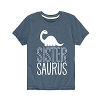 Sistersaurus  - Brother Sister Youth Short Sleeve Tee