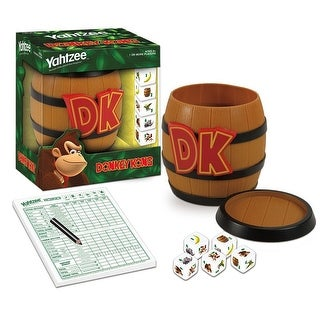 Donkey Kong Collector's Edition Yahtzee Dice Game - multi