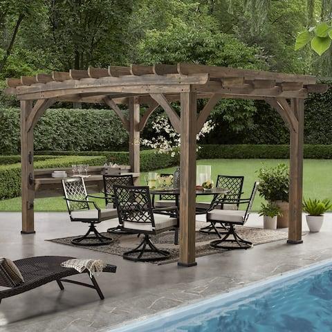 Backyard Discovery Silverton Cedar Pergola (14 x 10 )