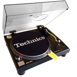Professional Direct Drive Manual Dj Turntable W/45 Adapter And Headshell