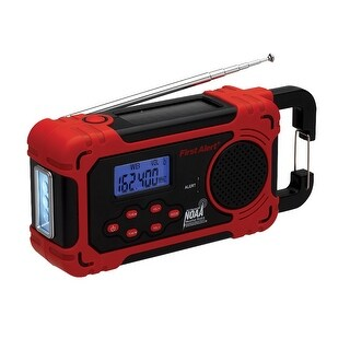 First Alert Spectra AM/FM Weather Band 4-Way Power Radio - FA1160
