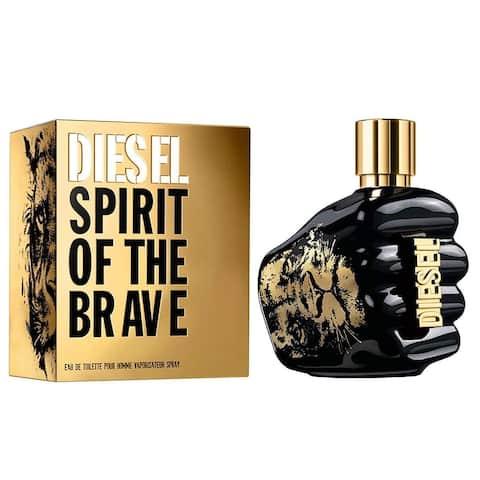 Diesel Spirit Of The Brave 4.2 Eau De Toilette Spray