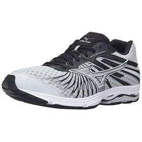 Mizuno Men's Wave Sayonara 4 Running Shoe, Quiet Shade/Black/Silver, 9.5 D US