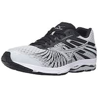 Mizuno Men's Wave Sayonara 4 Running Shoe, Quiet Shade/Black/Silver, 9.5 D US