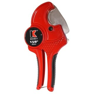 "Keeney K840-101 Pipe Cutter, 1-5/8"", PVC"