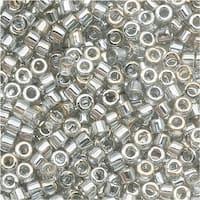 Miyuki Delica Seed Beads 11/0 Transparent Grey Luster DB114 7.2 GR