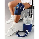 Aircast Cold Compression Therapy Gravity Cooler with Cryo/Cuff - Multiple Sizes/Styles Available