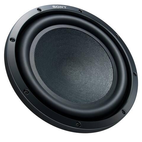 """Sony XS-GSW121D GS-Series 12"""" 4-Ohm Dual Voice Coil Subwoofer - Black"""