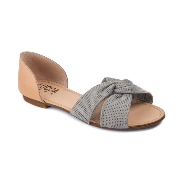 Lucca Lane Darsa Women's Sandals Mist Grey