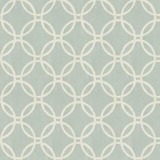 Brewster 2535-20638 Ecliptic Blue Geometric Wallpaper