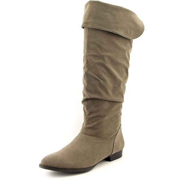 Style & Co Tiriza Round Toe Synthetic Knee High Boot