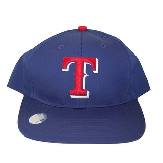 MLB Texas Rangers Twins Enterprise Snapback Hat-Red T