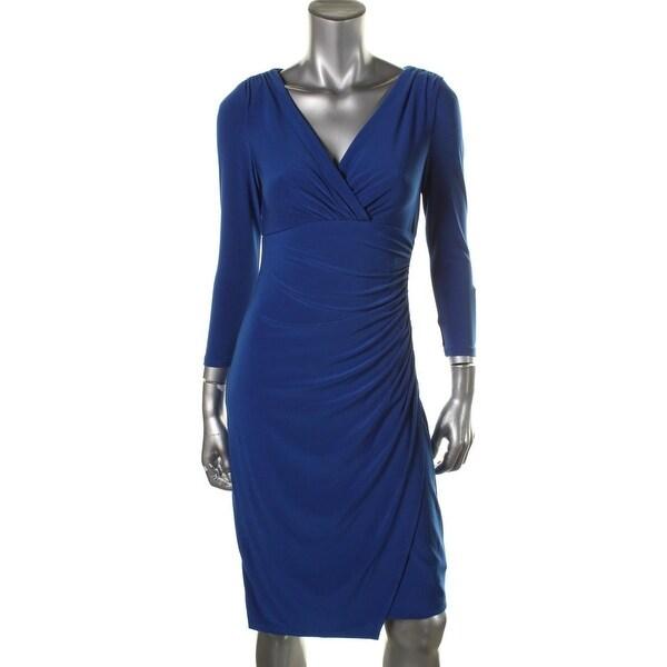 Shop Lauren Ralph Lauren Womens Wear To Work Dress Matte