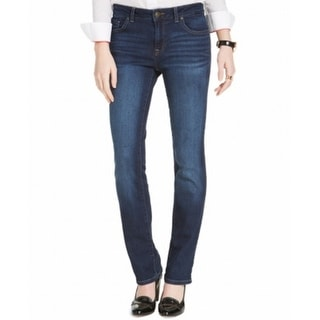 Tommy Hilfiger NEW Blue Women's Size 10 Short Straight Leg Jeans