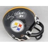 Signed Bleier Rocky Pittsburgh Steelers Replica Pittsburgh Steelers Mini Helmet autographed