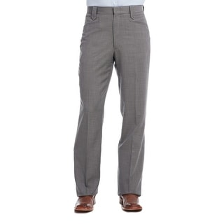 Circle S Western Pants Mens Unhemmed Stretch Waist Straight Leg CP6715