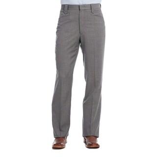 Circle S Western Pants Mens Unhemmed Stretch Waist Straight Leg CP6715