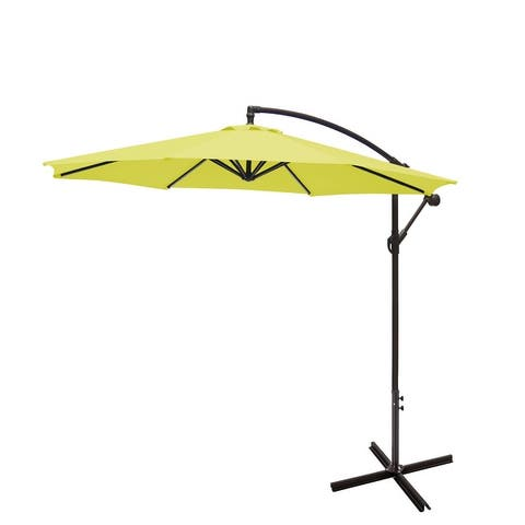Weller 10 Ft. Offset Cantilever Hanging Patio Umbrella