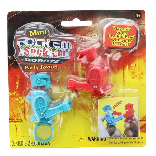 Mini Rock'em Sock'em Robots Party Favor Pack