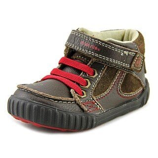 Stride Rite SRT Quest Toddler  Round Toe Synthetic Brown Sneakers