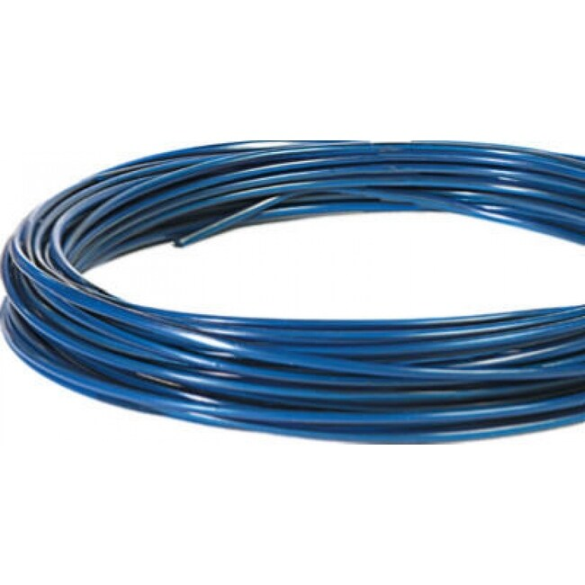 Hillman 122061 Galvanized Guy-A-Wire, 50, Blue Plastic Coated