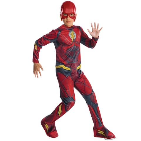 Rubies JL The Flash Child Costume - Red