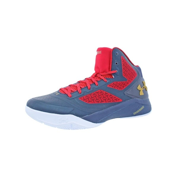 detailing bef05 363c8 Under Armour Mens Clutchfit Drive 2 Basketball Shoes Charged Mid Top. Click  to Zoom