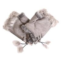 D&Y Winter Faux Fur Tech Gloves