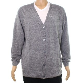 Weatherproof Men's Button-Front Cardigan Sweater