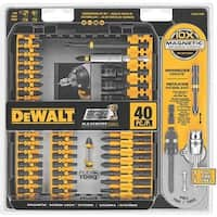Black & Decker/DWLT 40Pc Imp Ready Scrwddr DWA2T40IR Unit: EACH