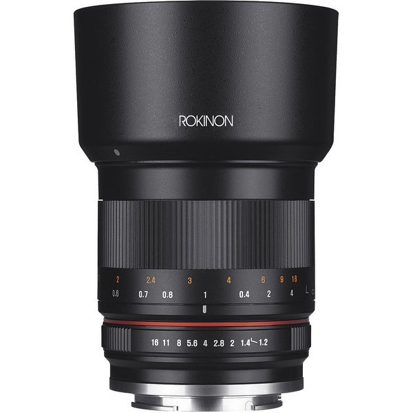 Rokinon 50mm f/1.2 Lens for Canon EF-M (Black) - black