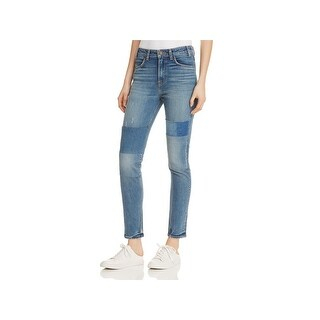 Levi's Womens 721 Skinny Jeans Patchwork Light Wash