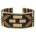 Deco Metallics Loom Bracelet - Exclusive Beadaholique Jewelry Kit - Thumbnail 0