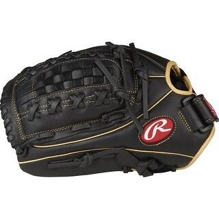 """Rawlings Shut Out 12.5"""" Fastpitch Outfield Fielding Glove (Left Hand Throw)"""