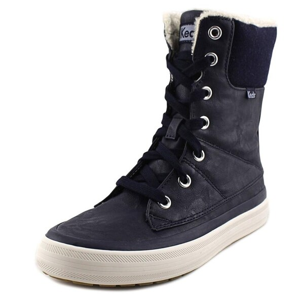 Keds Juliet Women Round Toe Synthetic Blue Winter Boot