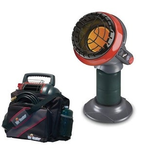 Mr. Heater MH4B Little Buddy Heater with Portable Buddy Carry Bag
