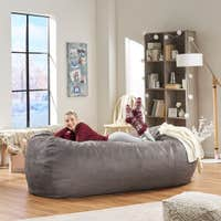 Christopher Knight Home Larson 8-ft Lounge Beanbag Chair Deals