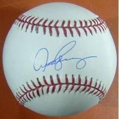 Alex Rodriguez Autographed New York Yankees Baseball