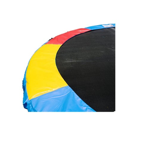 Gymax 15 FT Trampoline Safety Pad Spring Cover Frame Replacement Multi Color - Multi Color