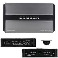 crunch PD2100.1 2100W MONO Car Amplifier (2 OHM)