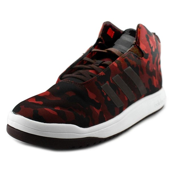 Adidas Veritas Mid Men Round Toe Synthetic Red Sneakers