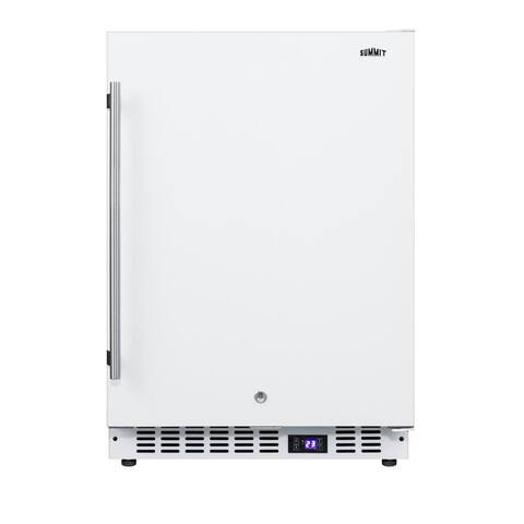 """Summit SCFF52 24"""" Wide 4.7 Cu. Ft. All Freezer with Frost-Free - White"""