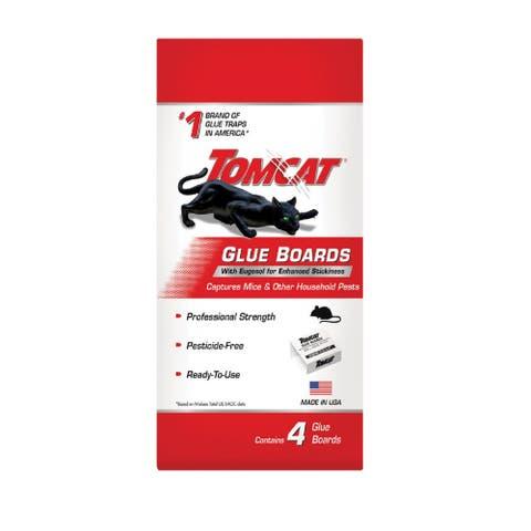 Tomcat 0363110 Glue Board Insect Trap, 4 Glue Board