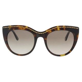 Juicy Couture JU595/S 0086/HA Dark Havana Cat Eye Sunglasses - 51-21-140
