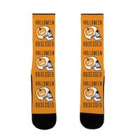 Halloween Obsessed US Size 7-13 Socks by LookHUMAN