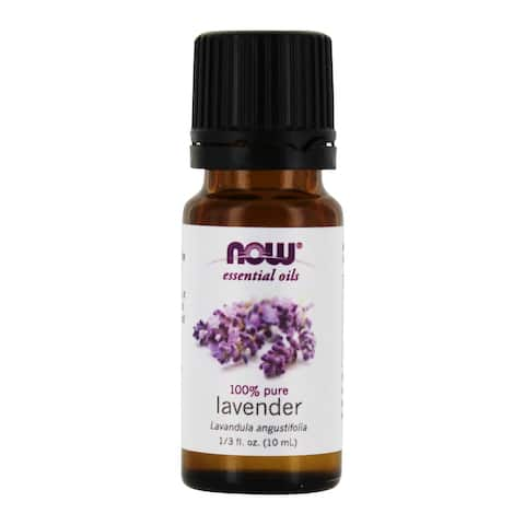 NOW Foods - 100% Pure Essential Oil Lavender - 10 ml.