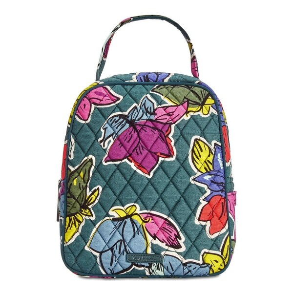 Shop Vera Bradley Womens Lunchbox Quilted Floral Print - Free ... 9444c4ece1317
