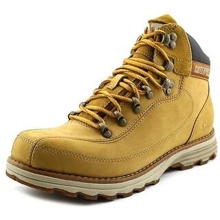 Caterpillar Highbury Men Round Toe Leather Tan Boot