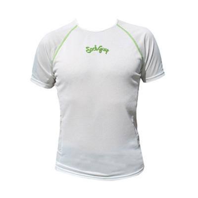 SockGuy Fusion Short Sleeve Base Layer - White