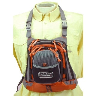"""TFO Med Size Chest Pack w/ Front Drop Pocket 13"""" x 1"""" 1"""" - TFO-255MCP"""